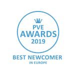PVE Awards 2019 Best Newcomer in Europe